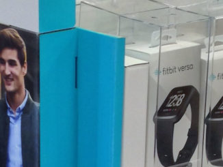 Fitbit Versa Best Buy Floor Display