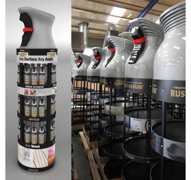 Rust-oleum Floor Display