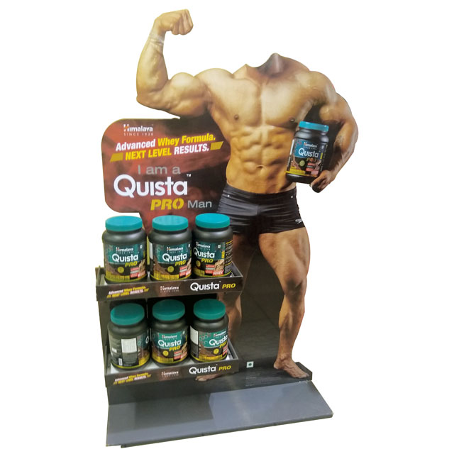 Quista Pro Men Floor Display