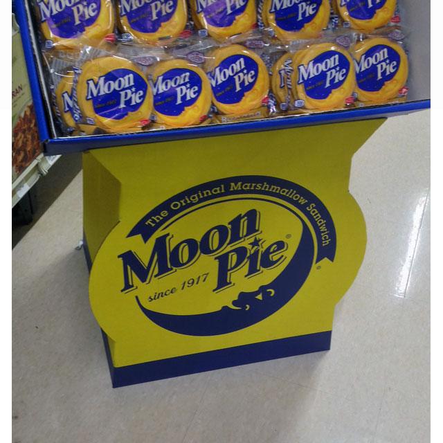 Moon Pie Floor Display