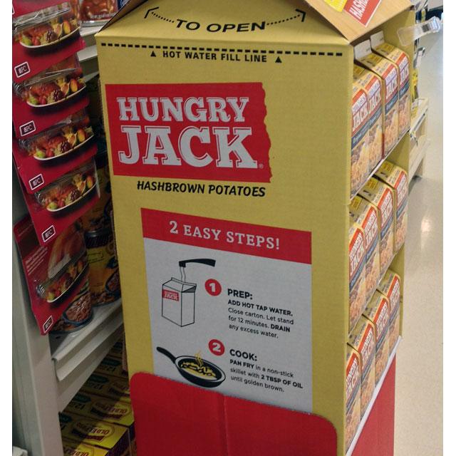 Hungry Jack Floor Display