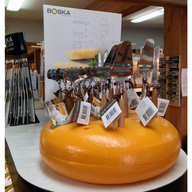 Boska Wheels Out A Cheesy Display