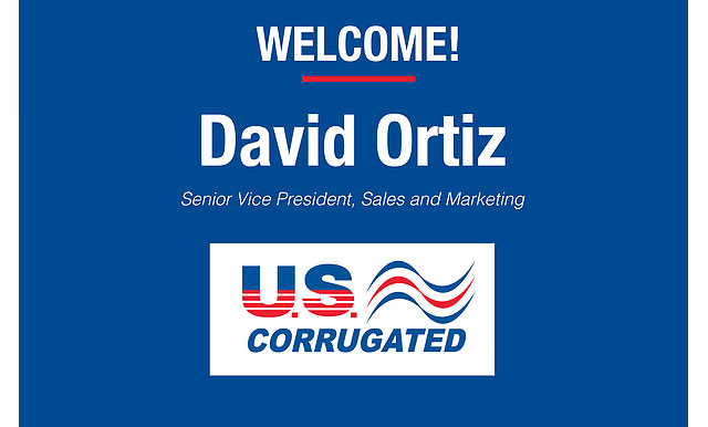 U.S. Corrugated Welcomes David Ortiz