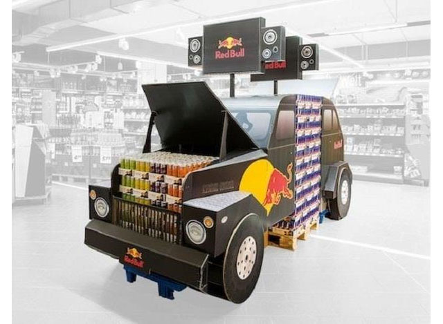 DS Smith Red Bull Display