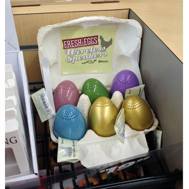 Fresh Eggs Display