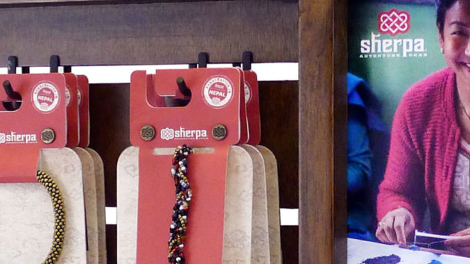 Sherpa Bracelet Display