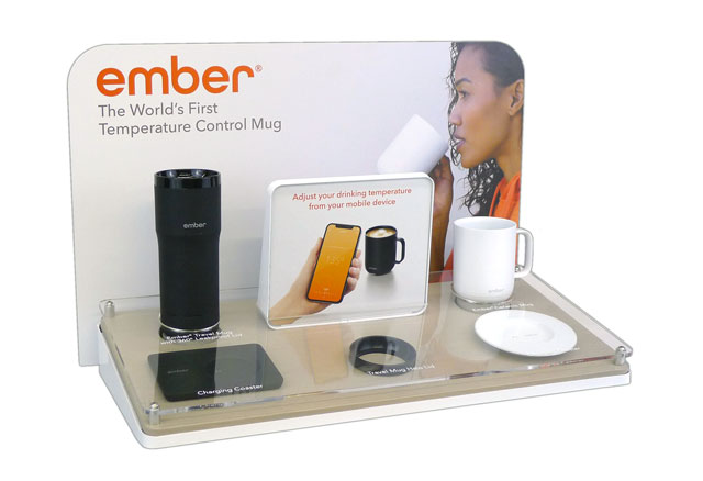 Ember Display Glows At Retail