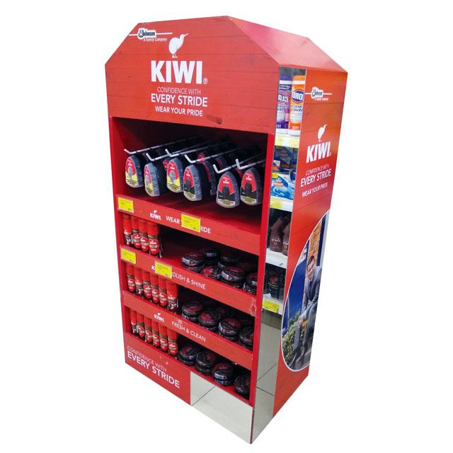 KIWI Every Stride Floor Display
