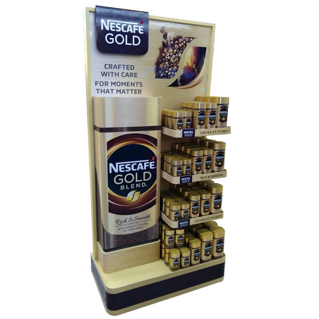 Nescafe Gold Blend Display
