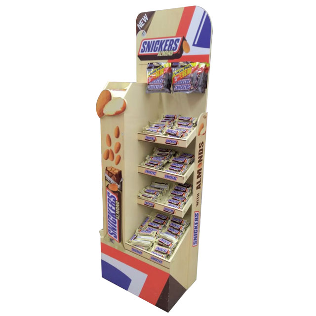 Snickers Almond Display