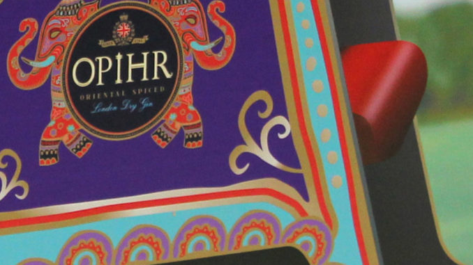 Opihr Gin Rickshaw Display