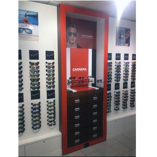 Carrera Sunglasses Display