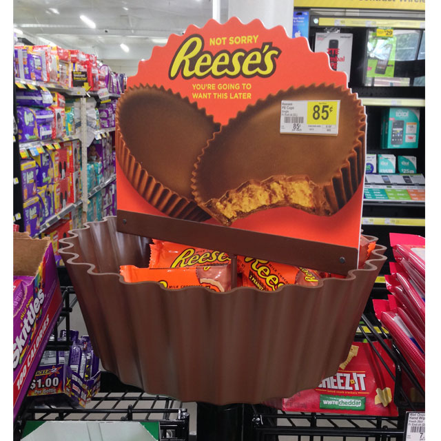 Reese's Pole Display