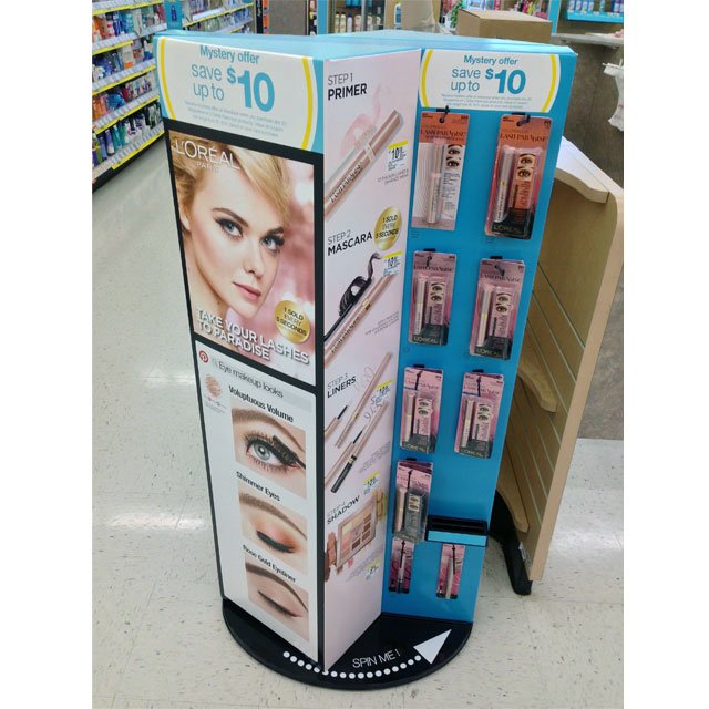L'Oreal Spinner Display