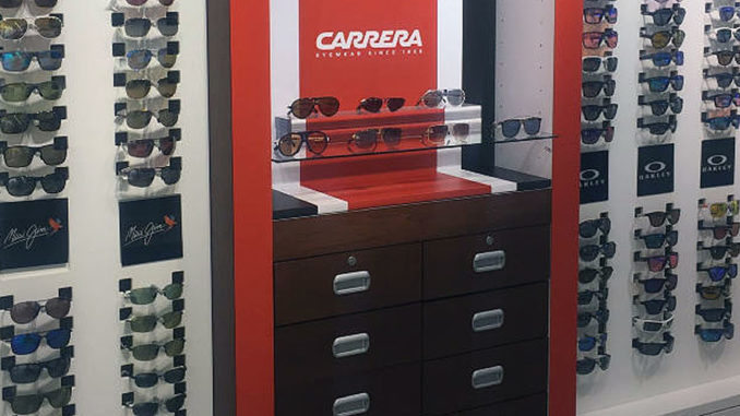 Carrera Sunglasses Display