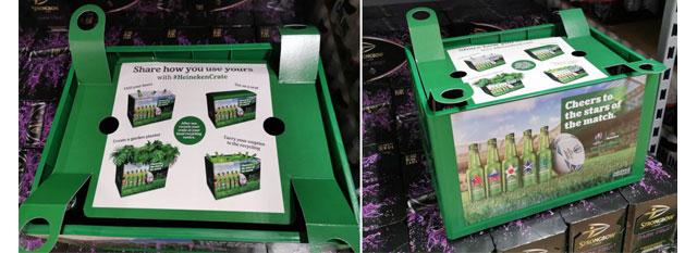 Heineken Rugby beer pack