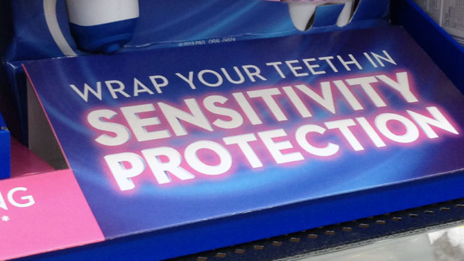 Crest Gum Sensitivity