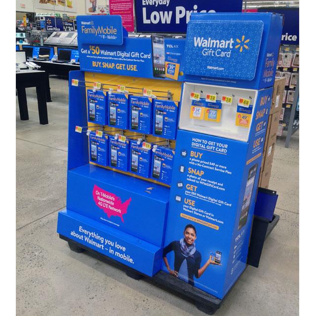 Walmart Family Mobile Display