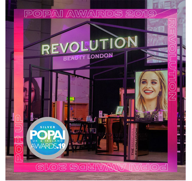 Pop-Up for Revolution Beauty