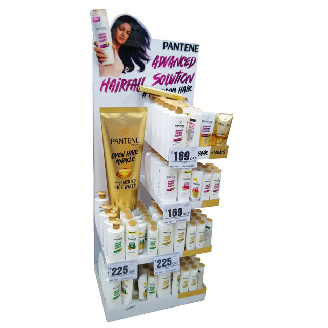 Pantene Floor Display