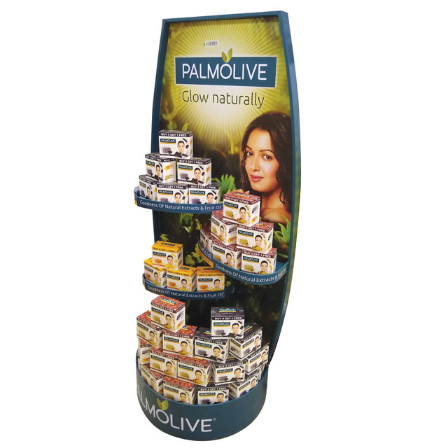 Palmolive Floor Display