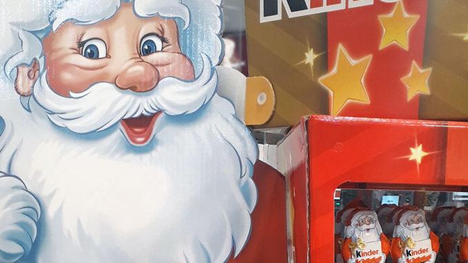Kinder Holiday Display