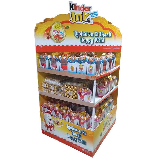 Kinder Joy Happy Wali Display