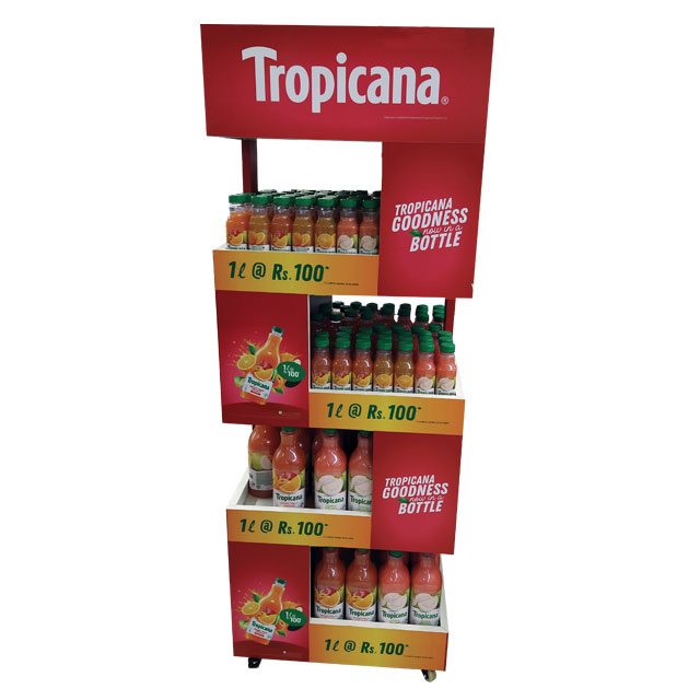 Tropicana Floor Display