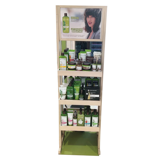 Yves Rocher Shampoo Display